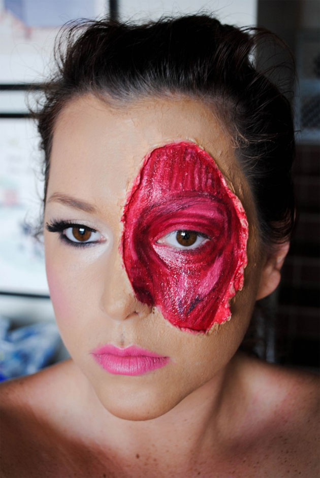 Deguisement halloween archives maquillage masque sur paris - Maquillage cicatrice halloween ...